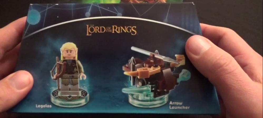 Lord Of The Rings Legolas Fun Pack Lego Dimensions Unboxing
